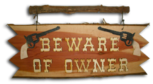 beware of owner